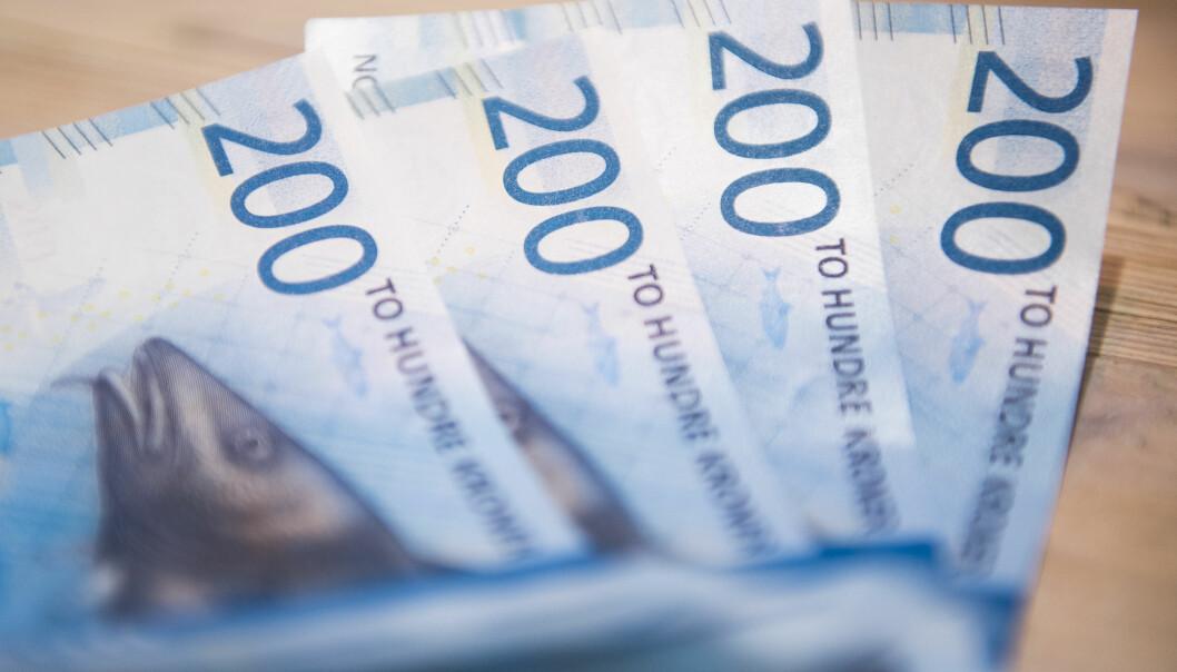 <strong>MÅ INNOM TOLLEN:</strong> Skal du ha med deg valuta tilsvarende mer enn 25.000 kroner til eller fra Norge, må du melde ifra til Tolletaten. Foto: Jon Olav Nesvold / NTB scanpix
