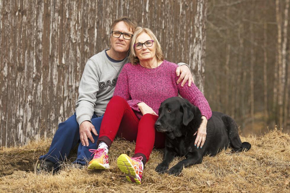 STERK HISTORIE: Eli og Atle Lundhaug har kjent hverandre siden ungdommen. Nå har hun fått alzheimer, og ekteparets liv er snudd opp ned. Foto: Morten Eik