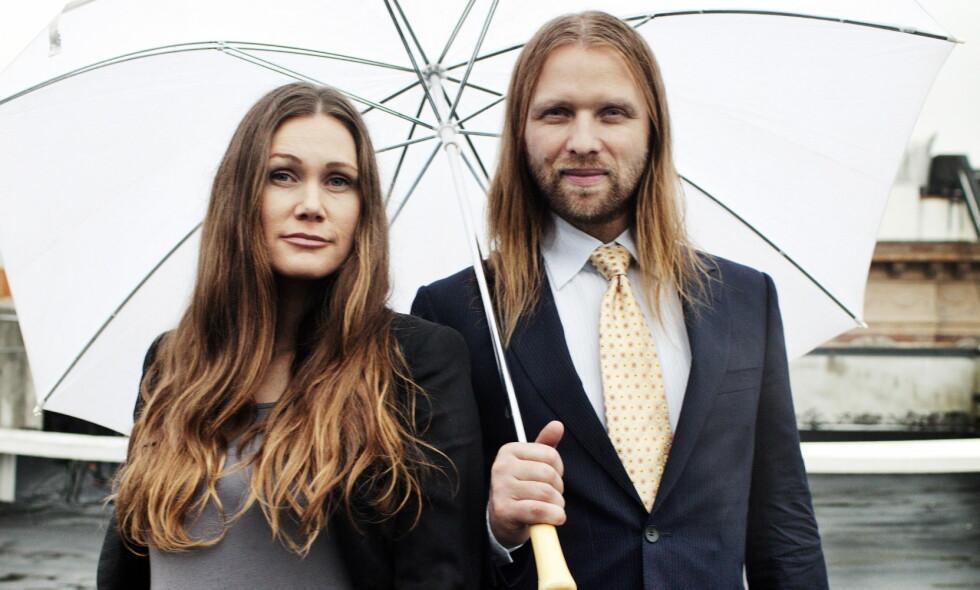 AVSLØRING: Marianne Aulie og Aune Sand ble foreldre for andre gang i mars. Nå er navnet på datteren asvlørt. Foto: Linus Sundahl-Djerf / Dagbladet