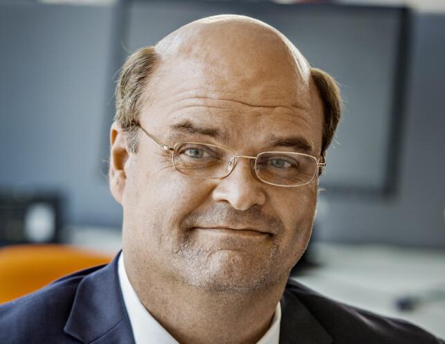 BANKMANN: Atle Antonsen som bankfunksjonæren Jo Aa. Foto: Jørn H Moen / Dagbladet