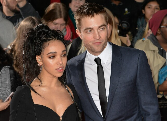 DATER: Robert Pattinson har datet artisten FKA Twigs siden 2014. Foto: Shutterstock / NTB Scanpix