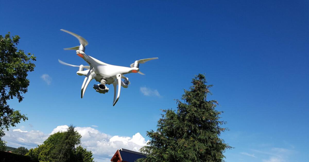 Regler for bruk av drone: - Feil bruk kan gi deg mange tusen kroner i bot - DinSide