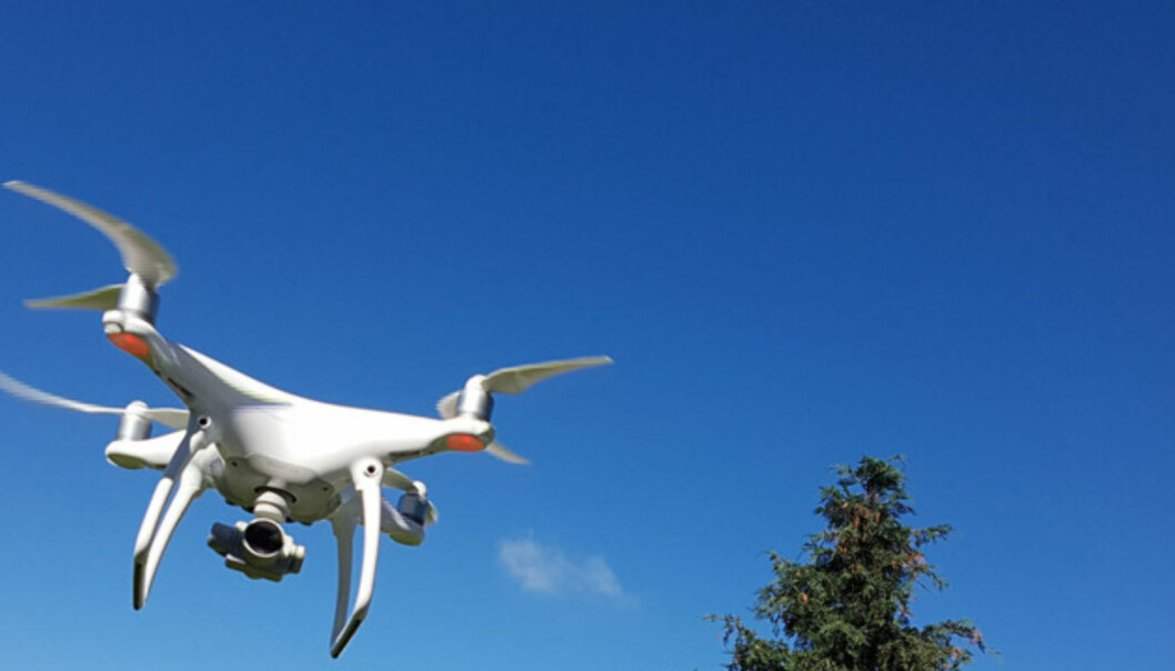 - Du risikerer 15.000 i bot hvis du flyr feil med drone