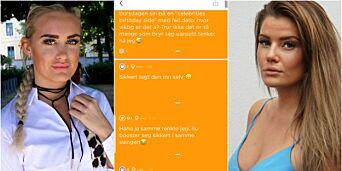 image: Lovet å fjerne anonym hets om kjendiser. Men drittslengingen lar seg ikke stoppe: - Jeg er drittlei