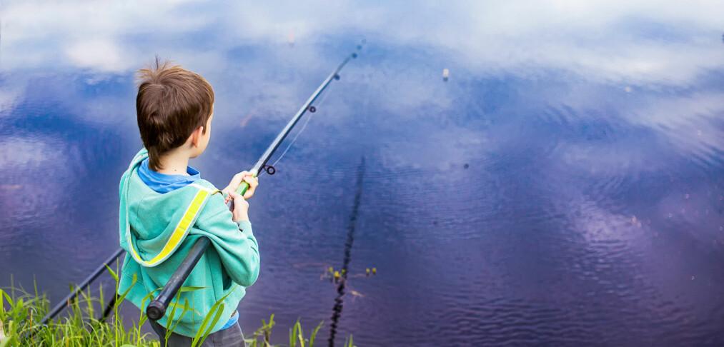 Kan barn fiske gratis overalt?