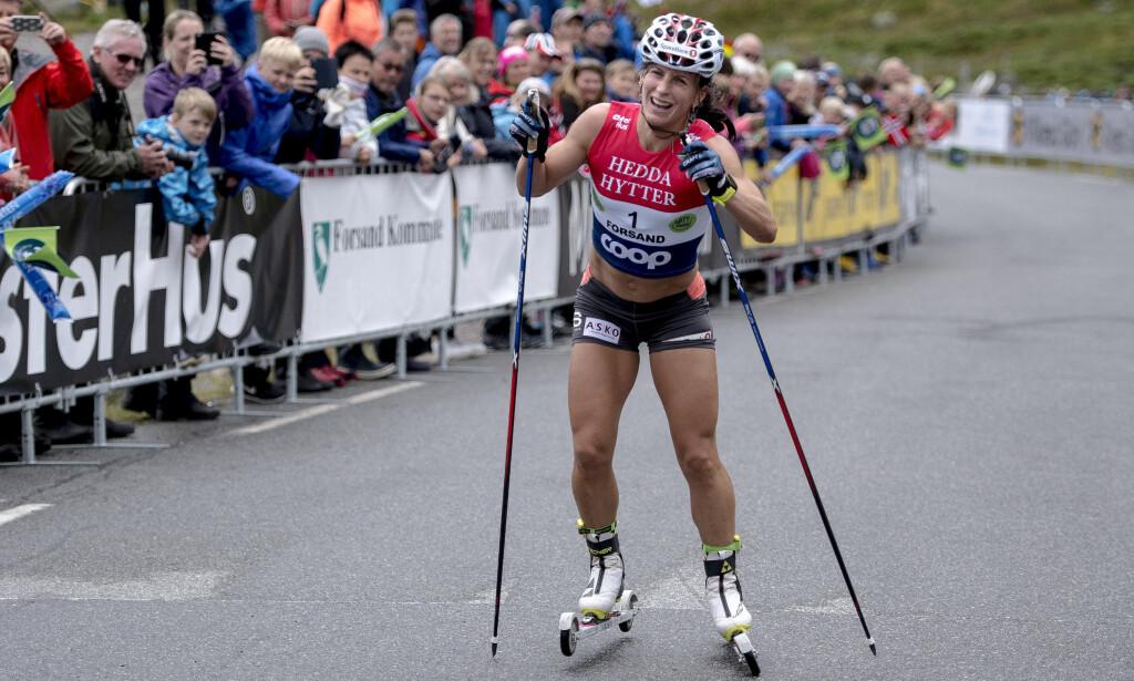 VURDERER Å LEGGE OPP: Marit Bjørgen innrømmer at hun har begynt å tenke på når hun skal legge opp. Foto: Carina Johansen / NTB Scanpix