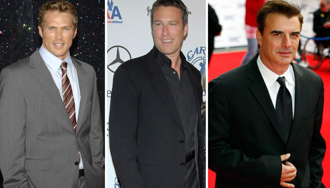 FORTSATTE SKUESPILLERKARRIEREN: Både Jason Lewis, John Corbett og Chris Noth fikk flere roller etter «Sex og singelliv.» Foto: NTB Scanpix