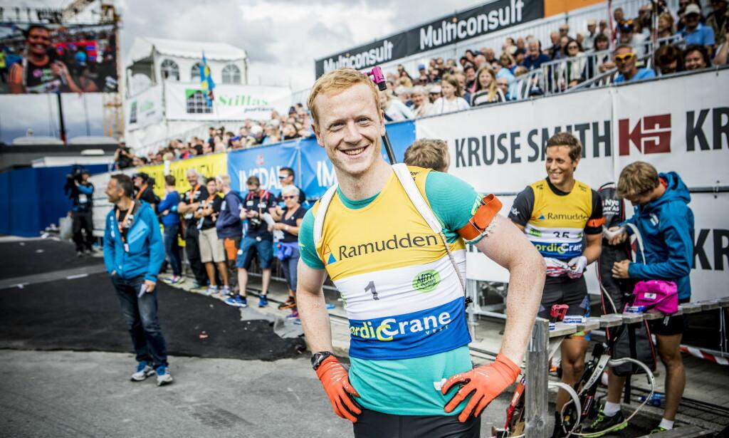 VANT: Johannes Thingnes Bø var sterkest av skiskytterne i Blinkfestivalen. Foto: Christian Roth Christensen / Dagbladet