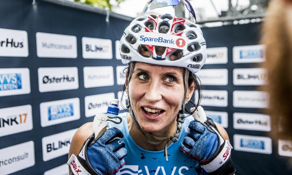 I TENKEBOKSEN: Marit Bjørgen avgjør sin framtid som langrennsløper etter denne sesongen. Foto: Christian Roth Christensen / Dagbladet