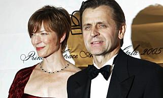 MED KONA: Mikhail Barysjnikov og Lisa Rinehart. Foto: AP / NTB scanpix