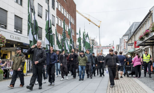 image: Øystein (78) syntes nazidemonstrasjonen var et ekkelt ekko fra krigens dager
