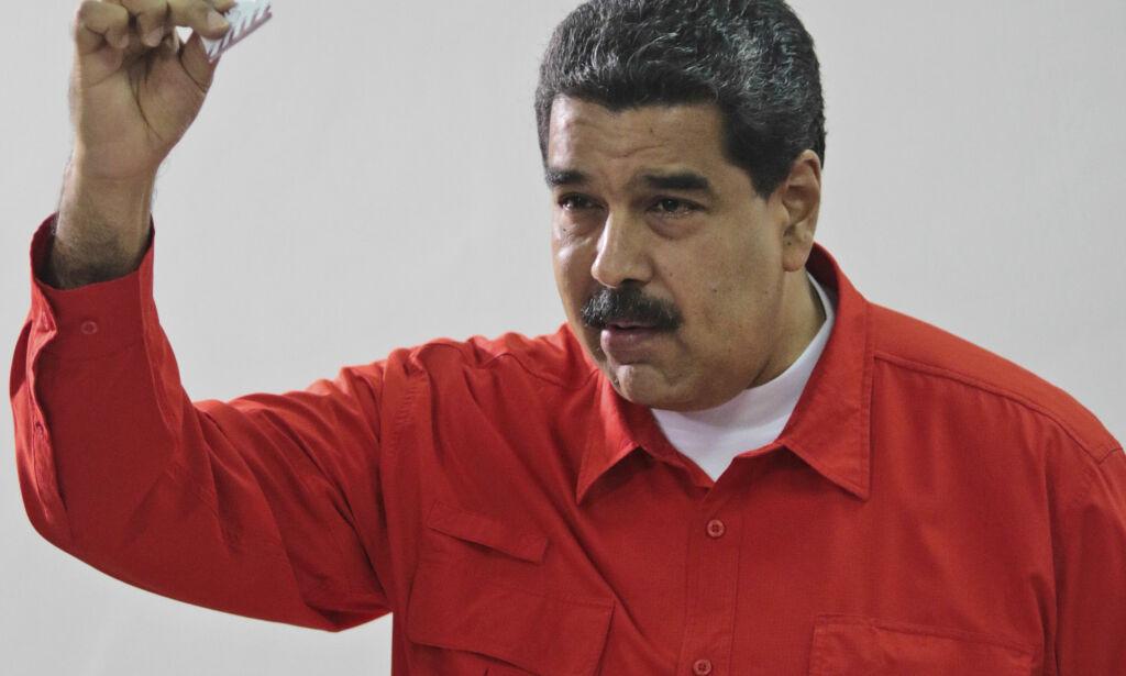 image: Da presidenten i Venezuela skulle stemme, fikk han beskjed om at han ikke eksisterte
