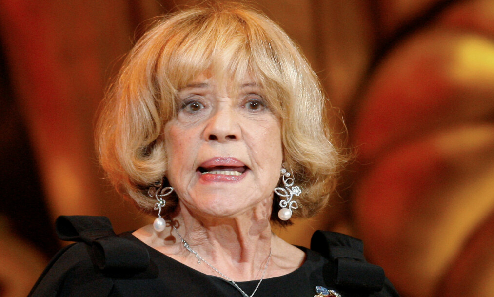 <strong>DØD:</strong> Mandag formiddag kom nyheten om at den franske skuespilleren, Jeanne Moreau har gått bort, 89 år gammel. Foto: Reuters / NTB Scanpix