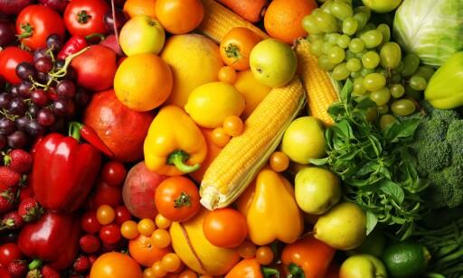 IKKE MED: Frukt og grønt taes ikke med i beregningen. Foto: Scanpix