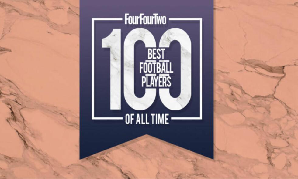 TIDENES BESTE: FourFourTwo har laget en liste over tidenes 100 beste fotballspillere. Foto: FourFourTwo