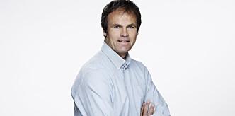 <strong>- NOE FOR PSYKOLOGER:</strong> Kommunikasjonssjef Bjarne Aani Rysstad i Gjensidige mener holdningene er dårligere hos høyinntekts-grupper. Foto: Gjensidige