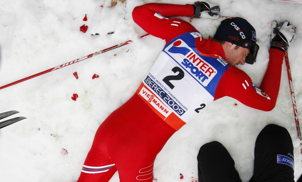 BANEBRYTENDE: Petter Northug er selve symbolet på moderne langrenn og inspirerte blant annet Johannes Høsflot Klæbo. Foto: Lise Åserud / SCANPIX