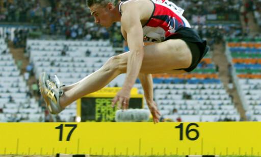 ALDRI MISTENKT: Respekterte Jonathan Edwards kan få beholde tresteg-rekorden sin om IAAF flytter den absolutte grensen fra 2005 til 1991. FOTO:. REUTERS/Fabrizio Bensch