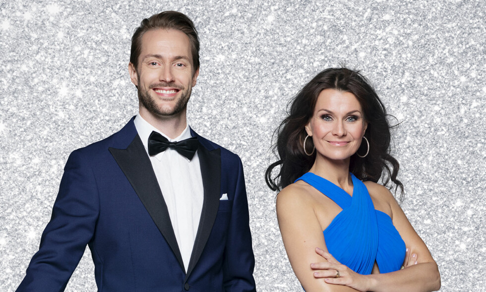 NY DUO: I år er det komiker Anders Hoff som skal lede «Skal vi danse» sammen med Katrine Moholt. Foto: Bjørn Wad / TV 2
