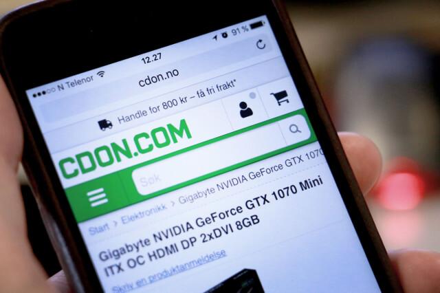 da3736de FEIL PRIS: CDON.com solgte et skjermkort med 40 prosent rabatt, når det