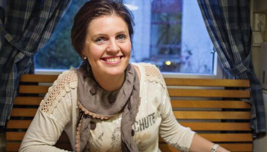 <strong>KRITISK:</strong> Dora Thorhallsdottir mener det er å gi kvinner komplekser når man serverer kropper som ikke eksisterer. FOTO: JO STRAUBE / DAGBLADET