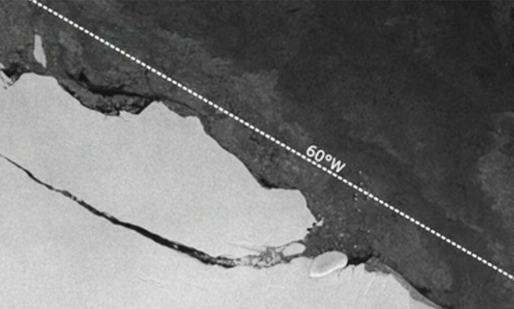 image: For tre uker siden løsnet et av verdens største isfjell. Men hva skjedde så?