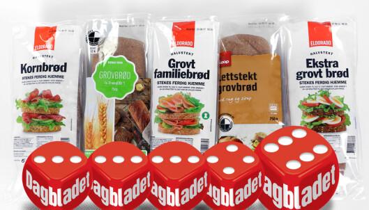 Halvstekte brød er ikke like grove som andre brød, men ett får terningkast seks