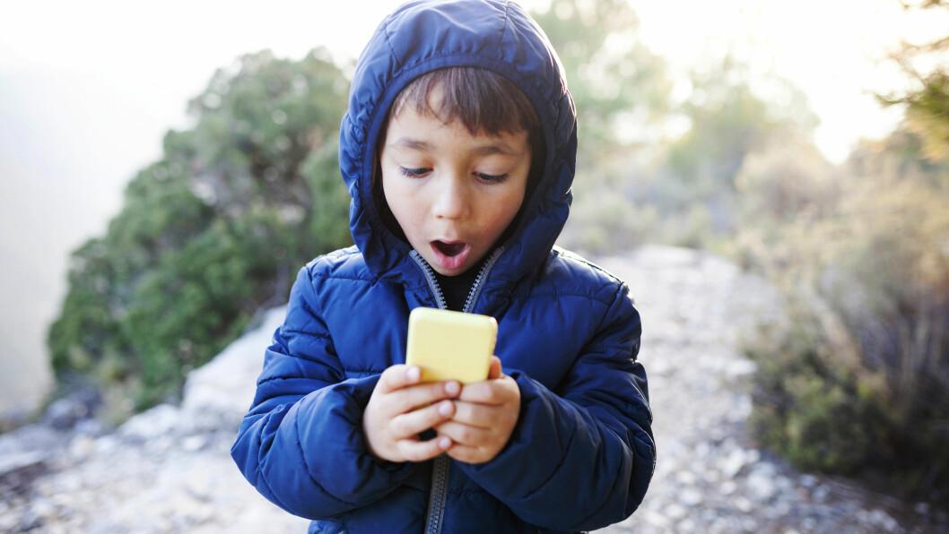 APP FOR BARN: Linda Skipnes Strands har laget en app som skal gjøre museumsbesøk gøy for barn.  Foto: NTB scanpix