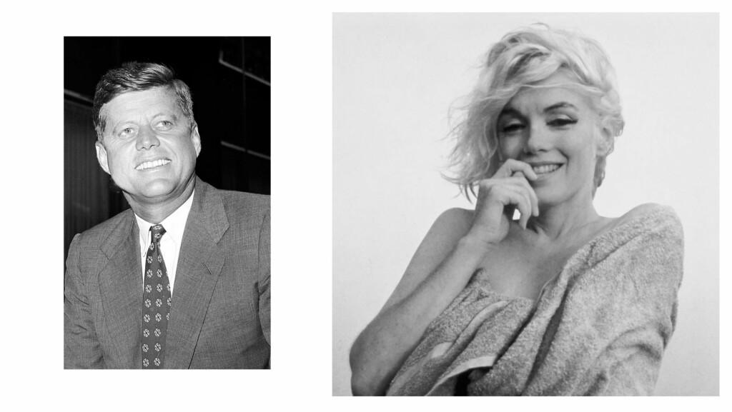 ea087b8f4694 MARILYN MONROE OG JOHN F. KENNEDY  Hollywood-divaen Marilyn Monroe skal ha  bekreftet