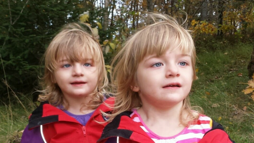 SJELDEN SYKDOM: Døtrene til Camilla og Andreas ble født med Dravet syndrom. Begge døde som følge av den grusomme sykdommen.  Foto: Privat