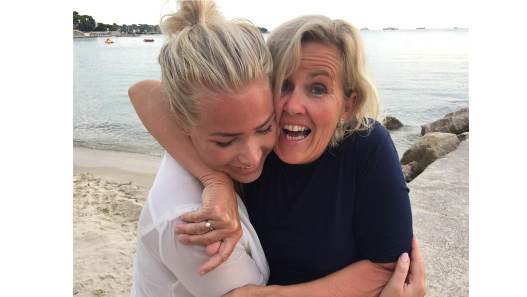 THEA STEEN: Thea og mamma Tove Steen hadde nære bånd. Hun var naturlig nok en stor støtte for datteren da hun ble syk i 2015. Foto: Privat