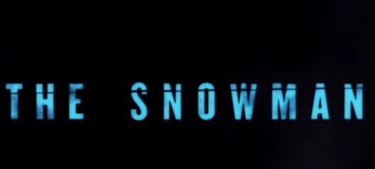 Her traileren for Jo Nesbøs «Snømannen»