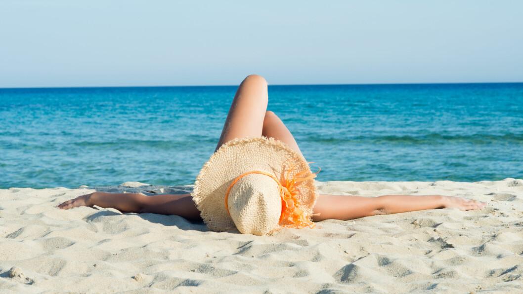 AVHENGIGHETSSKAPENDE? Studien tyder på at du kan bli avhengig av sol på samme måte som en mener en kan bli avhengig av trening.  Foto: Rido - Fotolia
