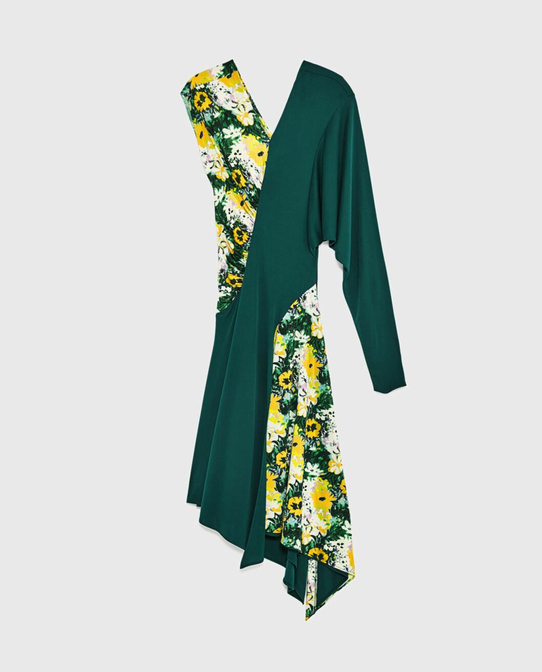 <strong>Kjole fra Zara | kr 999 | https:</strong>//www.zara.com/no/no/dame/nyheter/kombinert-asymmetrisk-kjole-c840002p5018510.html