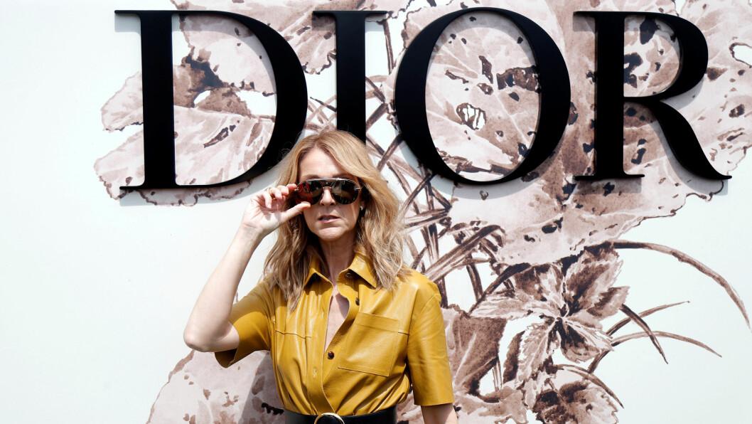 CELINE DION: Sangstjernen har deltatt på noen ganske så spektakulære visninger under haute couture-uken i Paris. Foto: Reuters