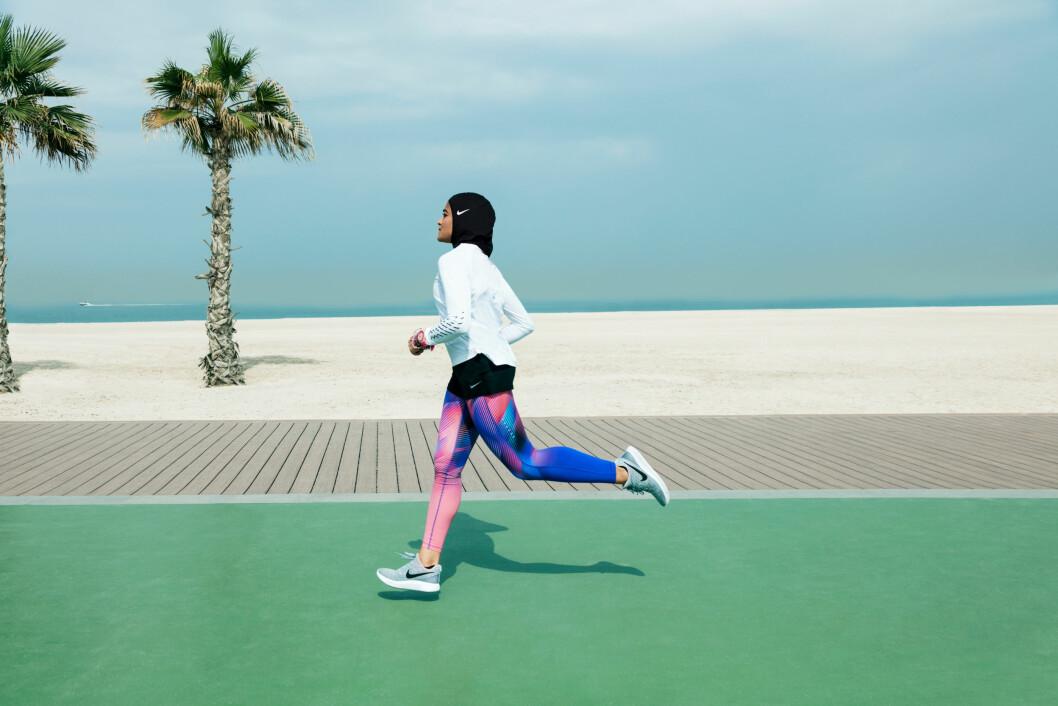 Nike lanserer hijab Foto: Reuters