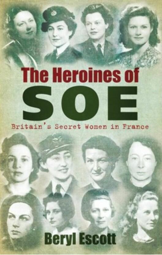 MODIGE KVINNER: Den britiske motstandskvinnen Vera Leigh (ytterst til høyre på midterste rad) og Sonya Olschanezky (nummer to fra venstre på nederste rad) ble begge to drept i Natzweiler med gift og siden kremert. Foto: Faksimile