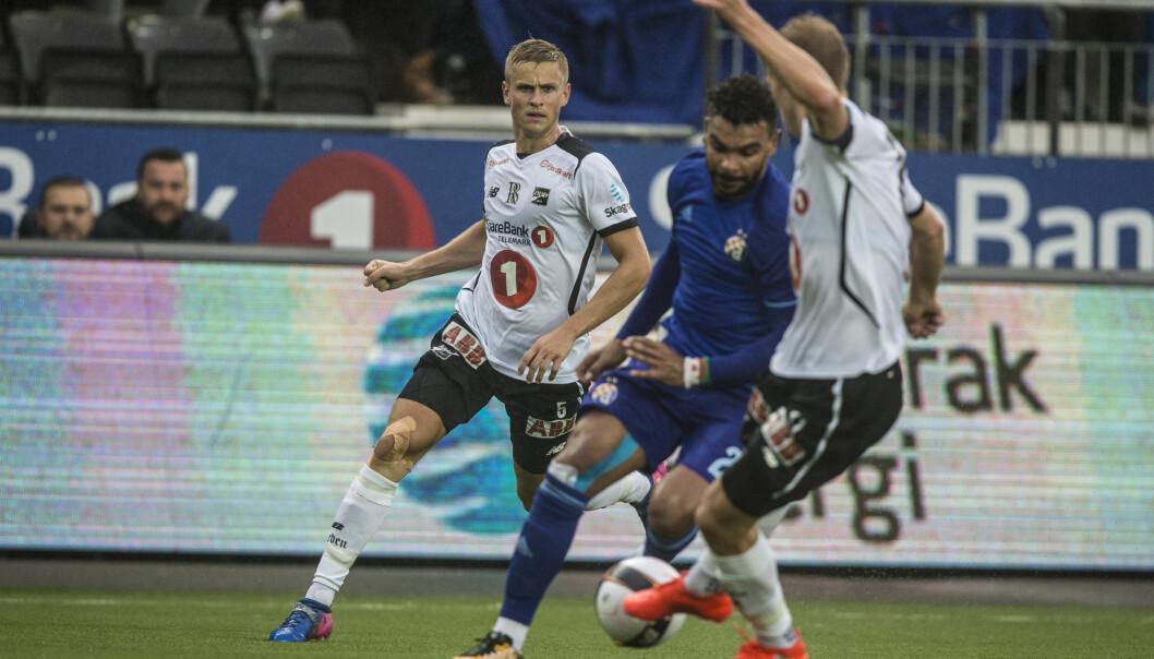 SLÅTT UT: Det ville seg ikke for Odd på hjemmebane mot Dinamo Zagreb. Kampen endte målløs og Odd er ute av Europaligaen. Foto: Trond Reidar Teigen / NTB scanpix