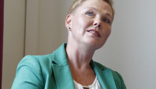 - KLART VEDTAK: Anne Beathe Kristiansen Tvinnereims (SP) slår fast at Sps vedtak er klinkende klart. Foto: Terje Pedersen / NTB scanpix