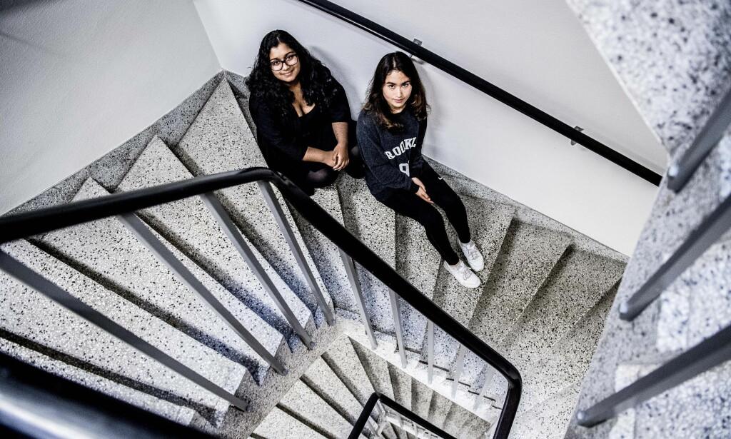 «Barnevernsproffe»: Annika og Sandra er Forandringsfabrikkens «barnevernsproffe». Foto: Thomas Rasmus Skaug / Dagbladet