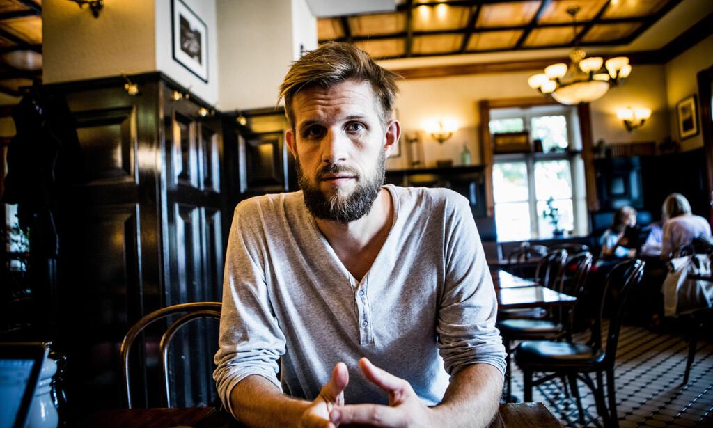 BESTE HITTIL: Aslak Nore har skrevet sin beste roman hittil, mener anmelderen. Foto: Christian Roth Christense