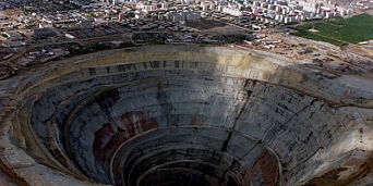 image: Flom i diamantgruve i Sibir. - Flere personer savnet