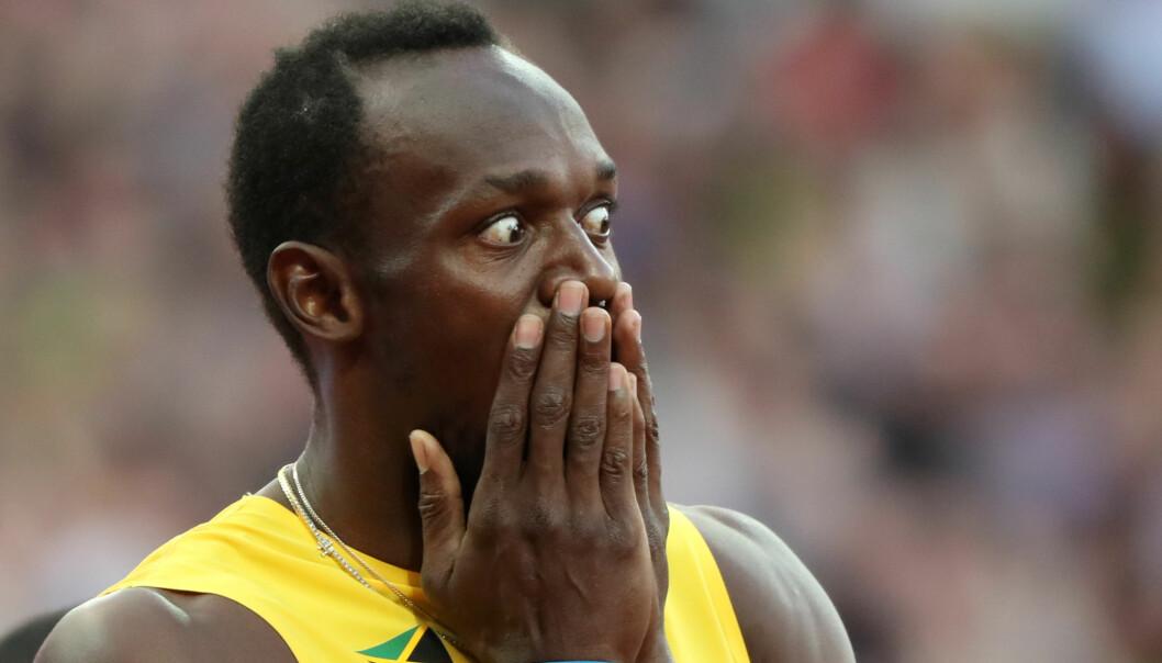 Sjokktap for Bolt i hundremeterfinalen, Justin Gatlin dømt foran på målfoto