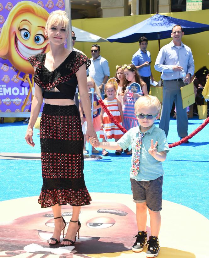 EN SØNN: Anna Faris og Chris Pratt har sønnen Jack sammen. Foto: Shutterstock / NTB Scanpix