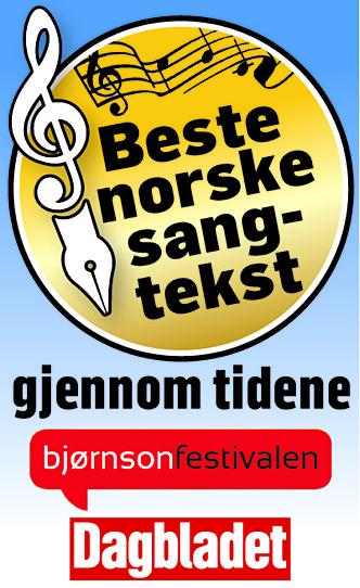 Bjørnsonfestivalen og Dagbladet kårer Norges beste sangtekst. Stem på din favoritt.