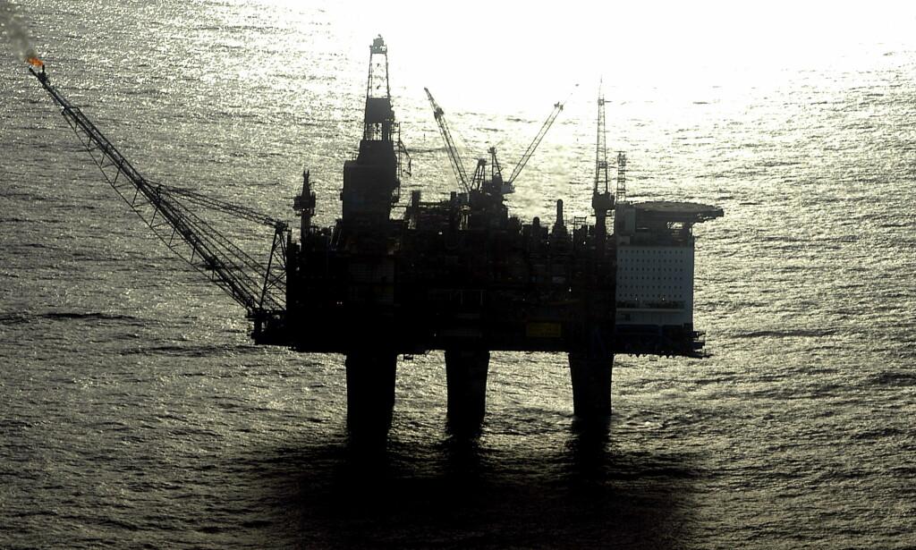 OPPLEVER KLIMARISIKO: I en utredning av norsk økonomis klimarisiko slipper heller ikke oljebransjen unna.  Foto: Aleksander Nordahl / Dagbladet