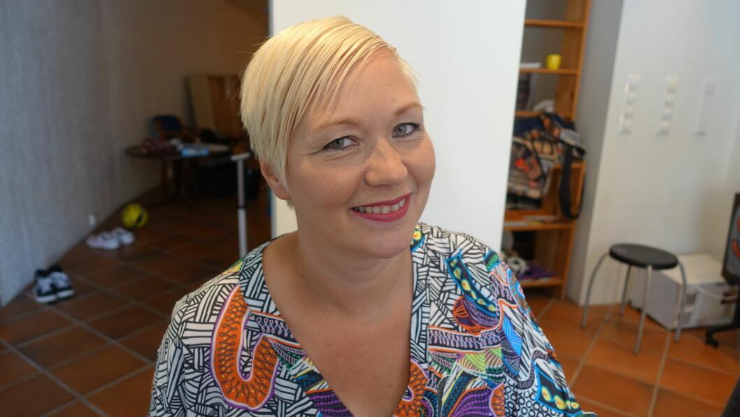 UHELBREDELIG KREFT: Linda Persen (42) har fått diagnosen uhelbredelig kreft. Selv føler hun seg frisk og bestemte seg for å følge drømmen!  Foto: Merete Sillesen