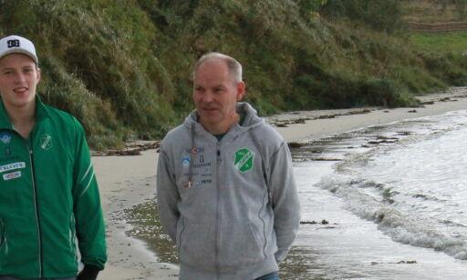 image: På denne stranda la Karsten Warholm grunnlaget for VM-suksessen: - Vi hadde aldri noen gode treningsforhold her