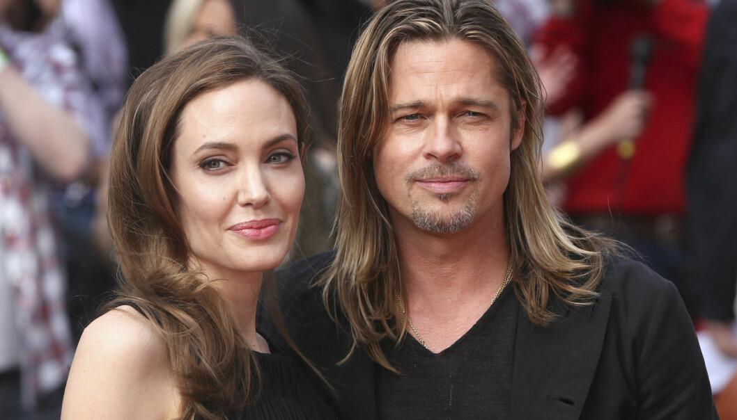 <strong>BRUDD:</strong> Angelina og Brad hadde vært et par siden 2004 da de gikk fra hverandre i fjor høst. Foto: Reuters / NTB Scanpix