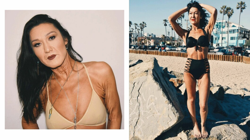 SARA GEURTS: Den amerikanske 26-åringen likte ikke utseendet sitt, så ble hun modell. Foto: Briana Berglund